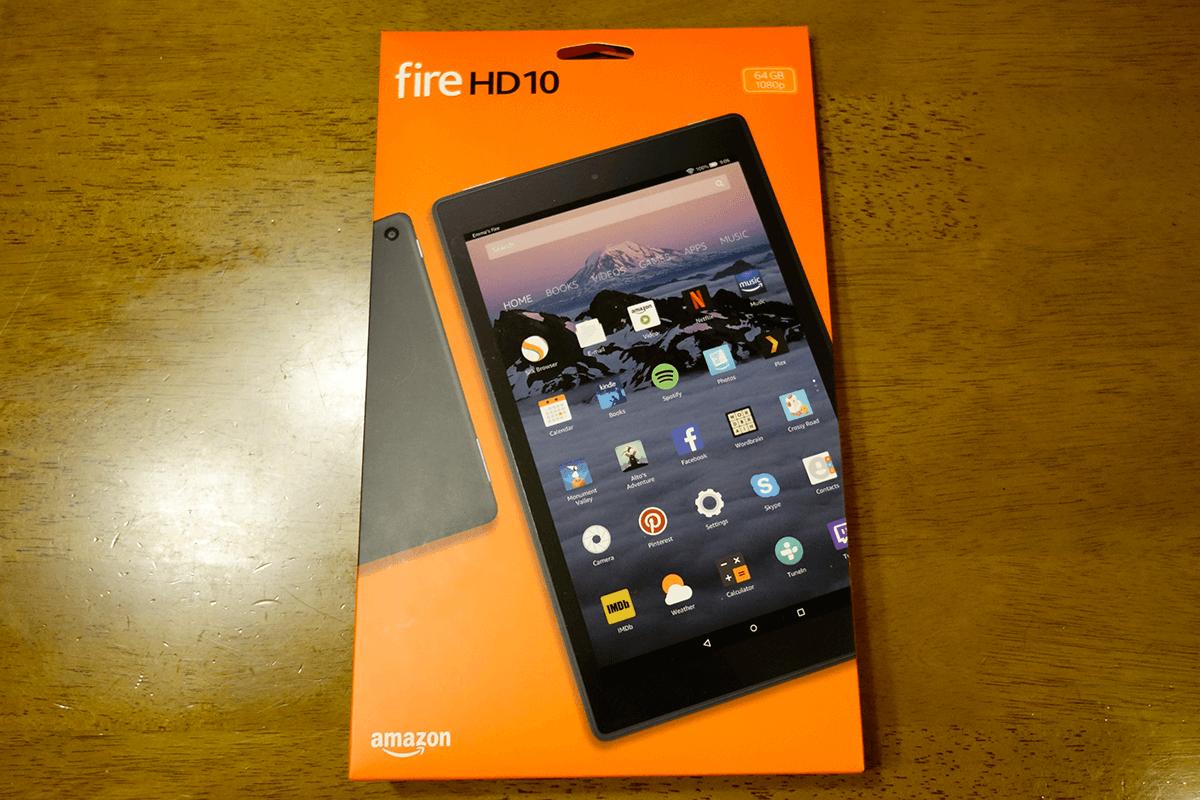 Amazon Fire HD 10(第7世代)レビュー 【コスパは良いけど重い】